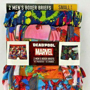 MARVEL COMICS DEADPOOL Mens Boxers Briefs
